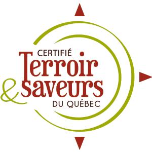 Être certifié Terroir et saveurs du Québec est une promesse de qualité et d'authenticité. Nous sommes fiers d'avoir obtenu cette certification.